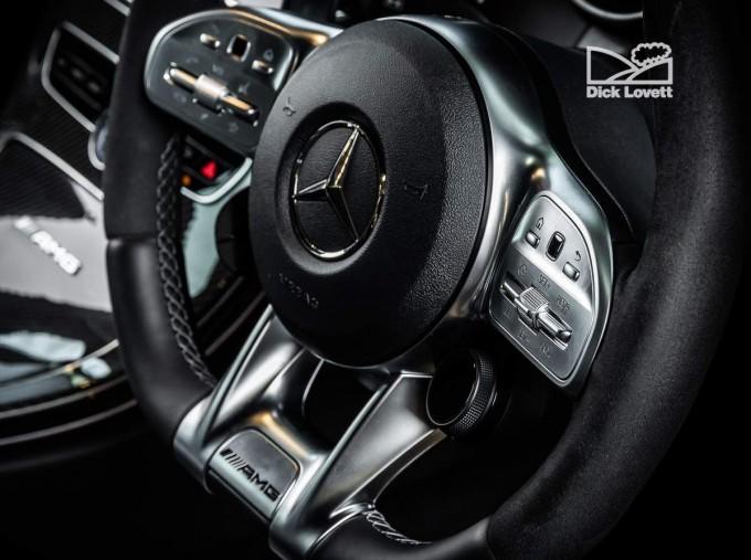2020 Mercedes-Benz C63 V8 BiTurbo AMG S SpdS MCT 4-door (Black) - Image: 16