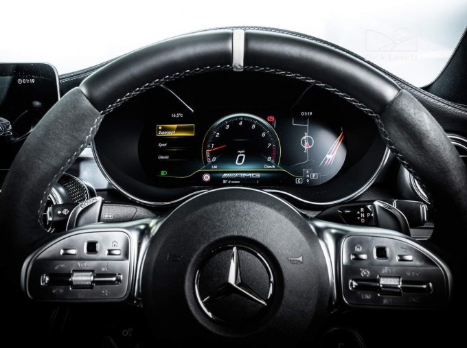 2020 Mercedes-Benz C63 V8 BiTurbo AMG S SpdS MCT 4-door (Black) - Image: 17