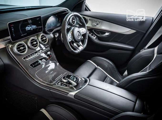 2020 Mercedes-Benz C63 V8 BiTurbo AMG S SpdS MCT 4-door (Black) - Image: 19