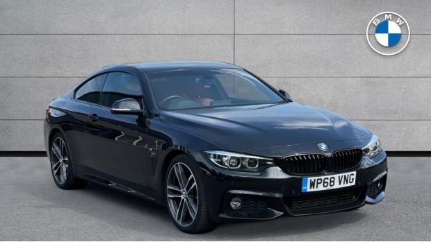 2018 BMW 420d M Sport Coupe (Black) - Image: 1