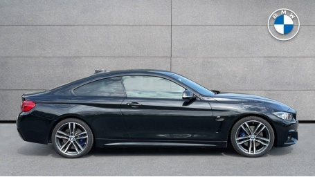 2018 BMW 420d M Sport Coupe (Black) - Image: 3
