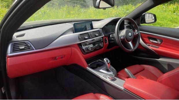 2018 BMW 420d M Sport Coupe (Black) - Image: 7