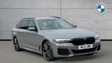2021 BMW 520d M Sport Touring (Grey) - Image: 1
