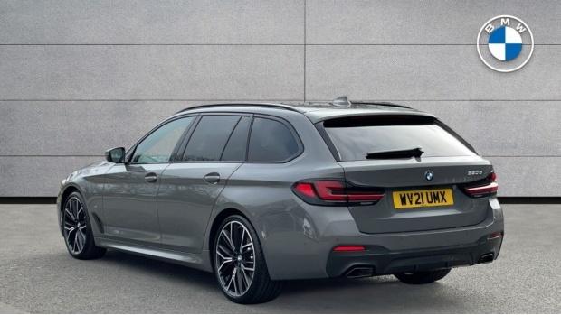 2021 BMW 520d M Sport Touring (Grey) - Image: 2