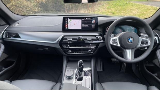 2021 BMW 520d M Sport Touring (Grey) - Image: 4
