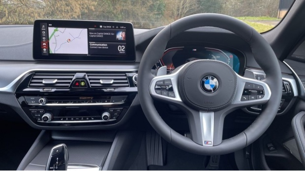 2021 BMW 520d M Sport Touring (Grey) - Image: 5