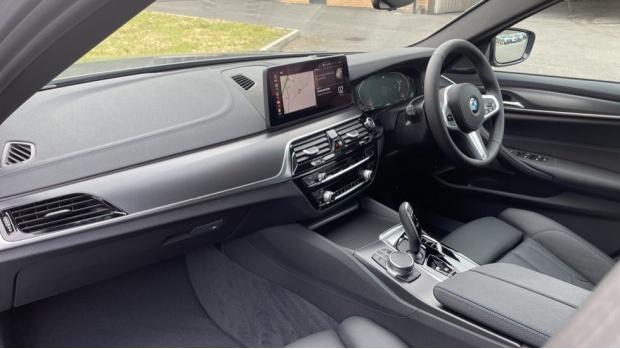 2021 BMW 520d M Sport Touring (Grey) - Image: 7