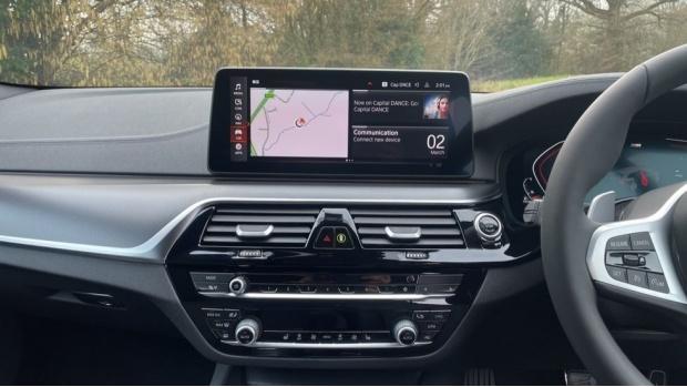 2021 BMW 520d M Sport Touring (Grey) - Image: 8