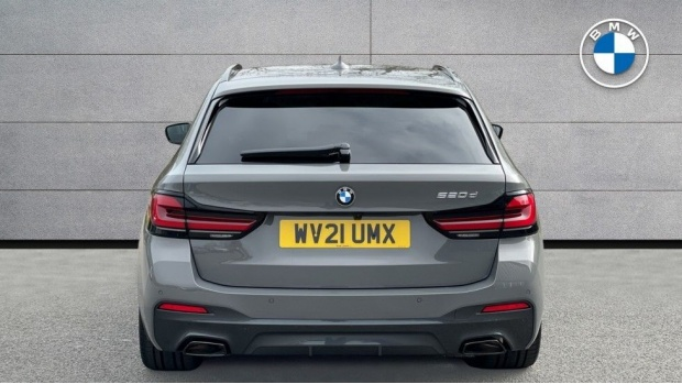 2021 BMW 520d M Sport Touring (Grey) - Image: 15