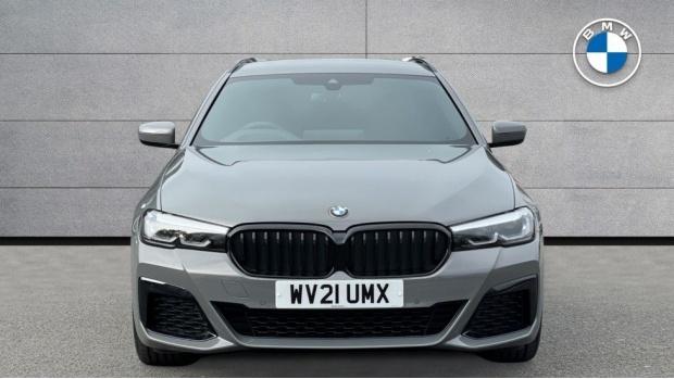 2021 BMW 520d M Sport Touring (Grey) - Image: 16