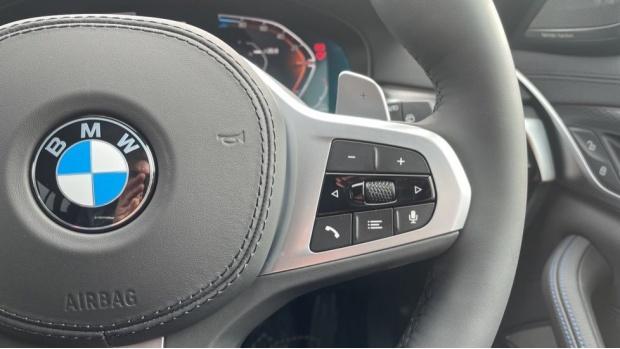 2021 BMW 520d M Sport Touring (Grey) - Image: 18