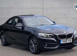 Brand new 2018 BMW 2 Series Sport Coupe 2-door finance deals