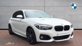 2019 BMW 118i M Sport Shadow Edition 5-door (White) - Image: 1