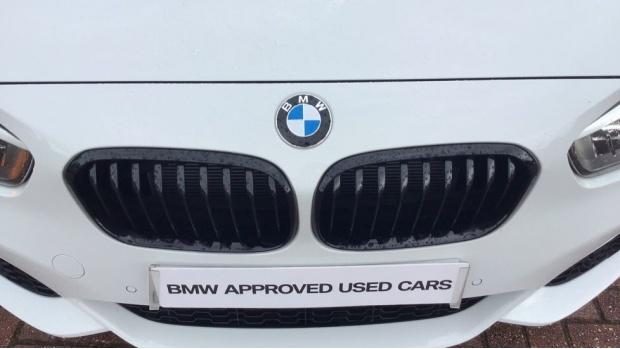 2019 BMW 118i M Sport Shadow Edition 5-door (White) - Image: 27