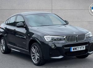 Brand new 2017 BMW X4 Series X4 xDrive30d M Sport 5-door finance deals