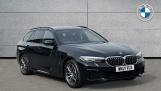 2021 BMW 530e M Sport Touring (Black) - Image: 1