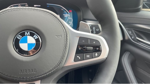 2021 BMW 530e M Sport Touring (Black) - Image: 18