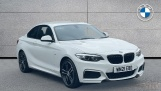 2021 BMW 218i M Sport Coupe (White) - Image: 1