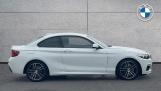 2021 BMW 218i M Sport Coupe (White) - Image: 3