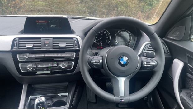 2021 BMW 218i M Sport Coupe (White) - Image: 5