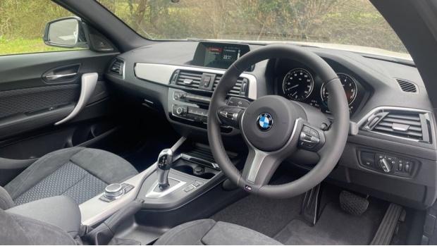 2021 BMW 218i M Sport Coupe (White) - Image: 6