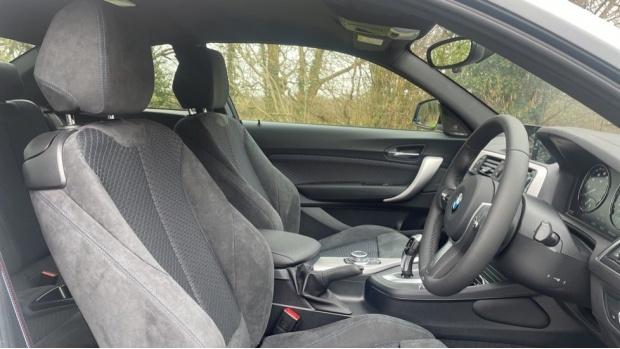 2021 BMW 218i M Sport Coupe (White) - Image: 11
