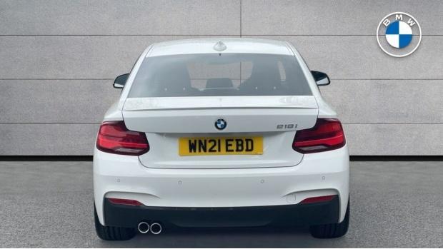 2021 BMW 218i M Sport Coupe (White) - Image: 15