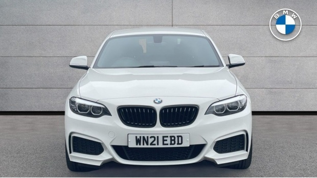 2021 BMW 218i M Sport Coupe (White) - Image: 16