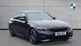 2021 BMW 330e M Sport Saloon (Black) - Image: 1