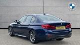 2019 BMW 520i M Sport Saloon (Blue) - Image: 2