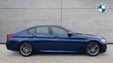2019 BMW 520i M Sport Saloon (Blue) - Image: 3