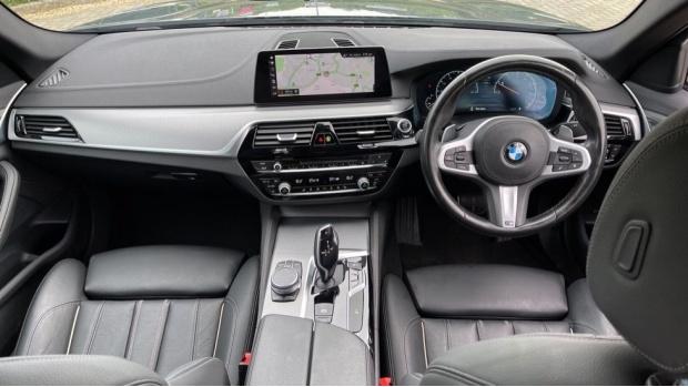 2019 BMW 520i M Sport Saloon (Blue) - Image: 4