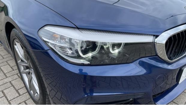 2019 BMW 520i M Sport Saloon (Blue) - Image: 22
