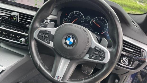 2019 BMW 520i M Sport Saloon (Blue) - Image: 30