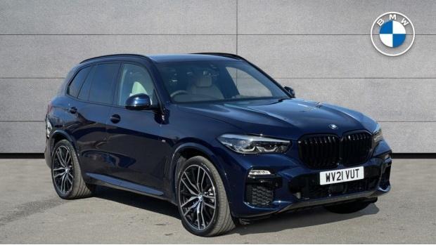 2021 BMW XDrive30d M Sport (Blue) - Image: 1