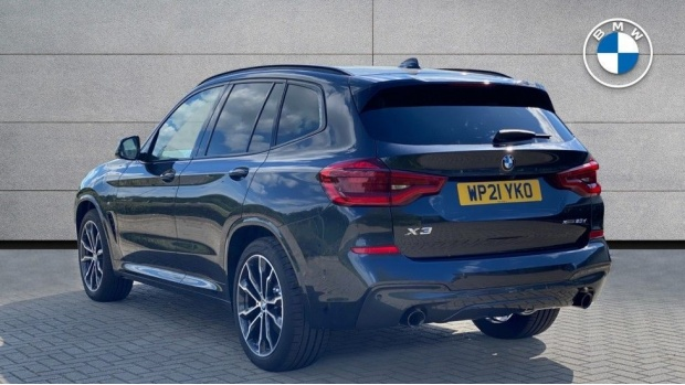 2021 BMW XDrive20d M Sport (Grey) - Image: 2