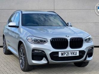 Reserve your 2021 BMW X3 xDrive20d M Sport 5-door