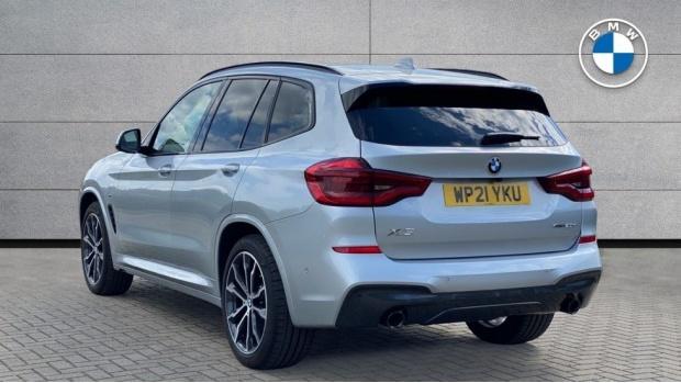2021 BMW XDrive20d M Sport (Silver) - Image: 2