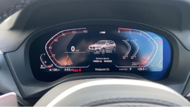 2021 BMW XDrive20d M Sport (Silver) - Image: 9
