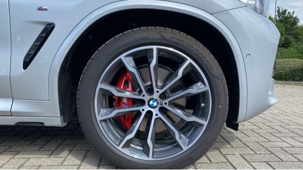 2021 BMW XDrive20d M Sport (Silver) - Image: 14