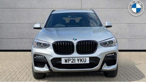 2021 BMW XDrive20d M Sport (Silver) - Image: 16