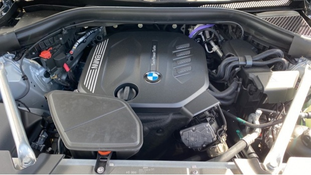 2021 BMW XDrive20d M Sport (Silver) - Image: 29