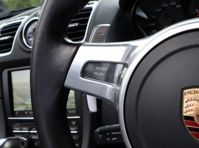 2016 Porsche 981 Black Edition PDK 2-door (Black) - Image: 17