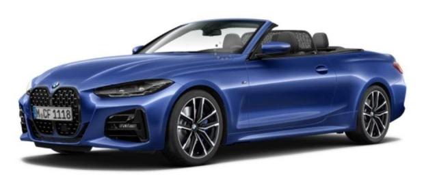 2021 BMW 420i M Sport Auto 2-door (Blue) - Image: 1