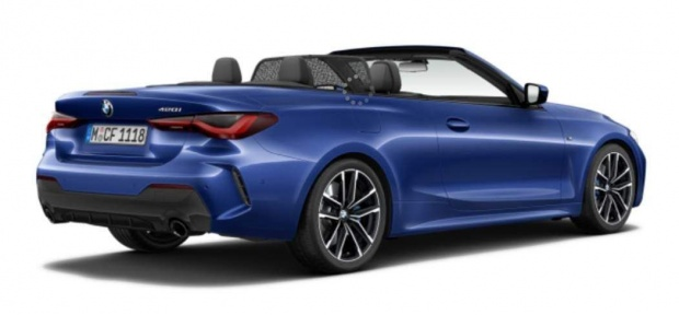 2021 BMW 420i M Sport Auto 2-door (Blue) - Image: 3