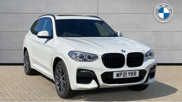 2021 BMW XDrive20d M Sport (White) - Image: 1