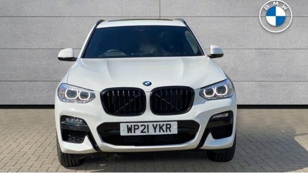 2021 BMW XDrive20d M Sport (White) - Image: 16