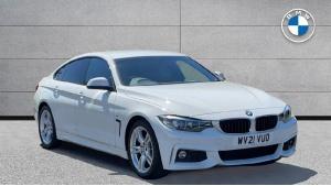 2021 BMW 4 Series Gran Coupe 420i M Sport Gran Coupe 5-door