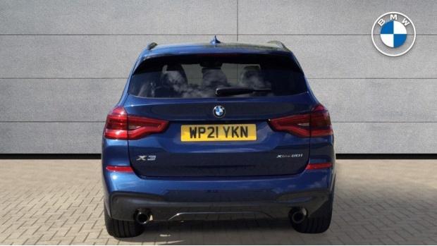 2021 BMW XDrive20i M Sport (Blue) - Image: 15