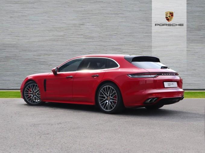 2021 Porsche V6 4S Sport Turismo PDK 4WD 5-door (Red) - Image: 2